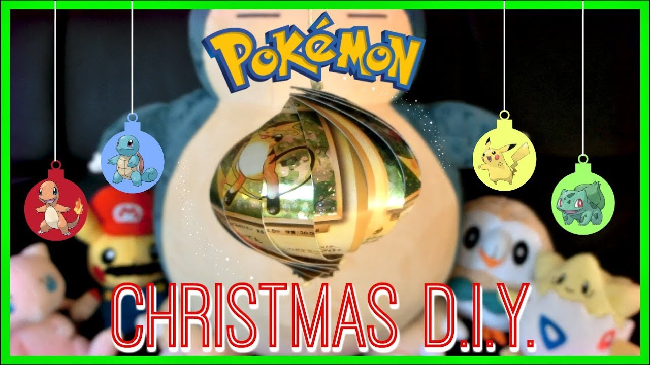 Pikachu Christmas Ornament.Diy Pokemon Christmas Ornaments