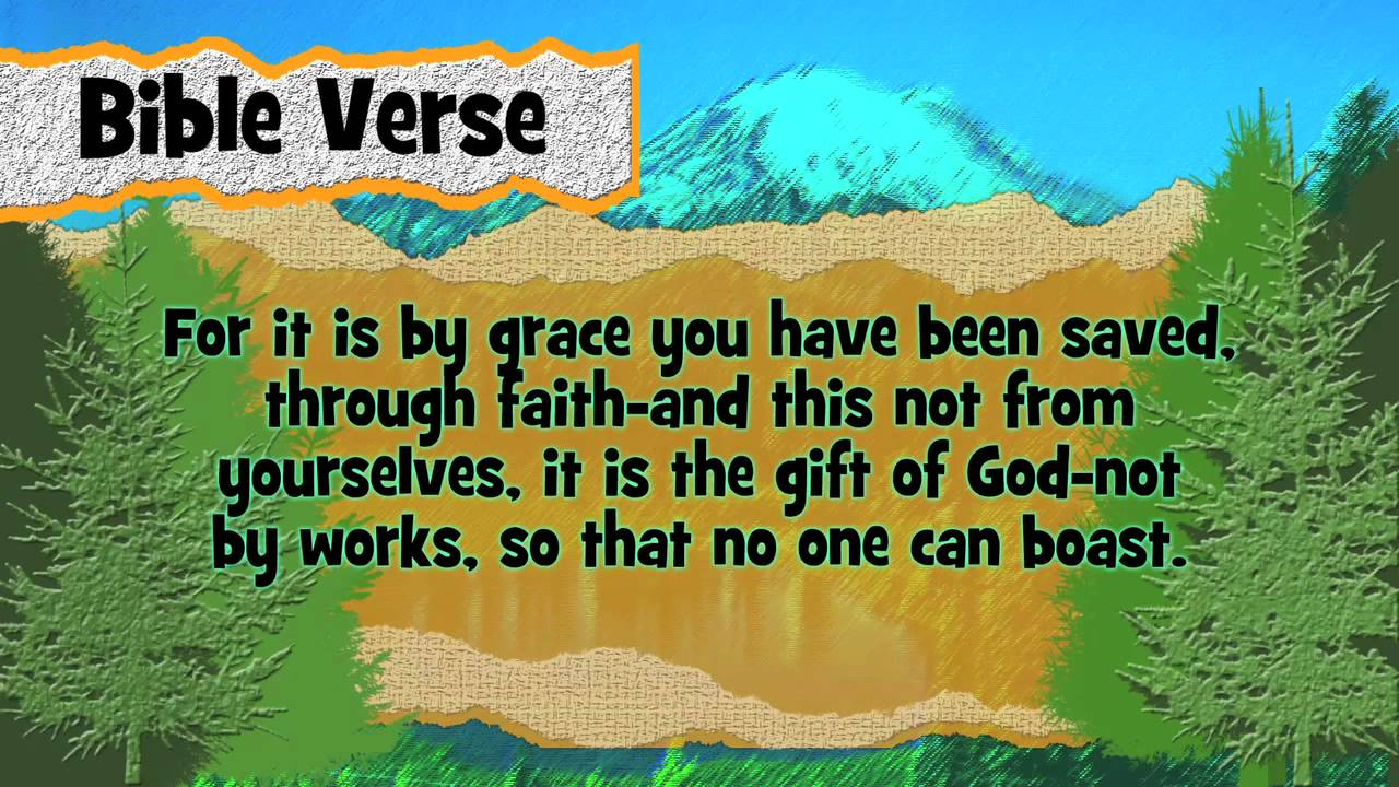 Picture Quote On Ephesianns 210 Niv: Bible Verse Ephesians 2:8-9