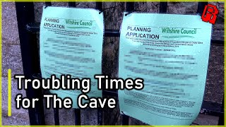Why is The Cave in trouble, and why has it been rebranded?