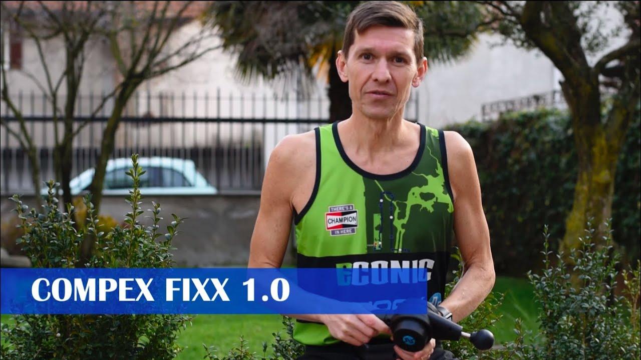 COMPEX FIXX 1 0 Pistola da massaggio per alleviare il dolore