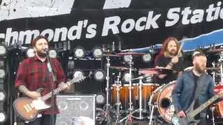 "Seether - ""Gasoline"" ""Fine Again"" & ""Burrito"" Live Richmond Va. 4/19/14"