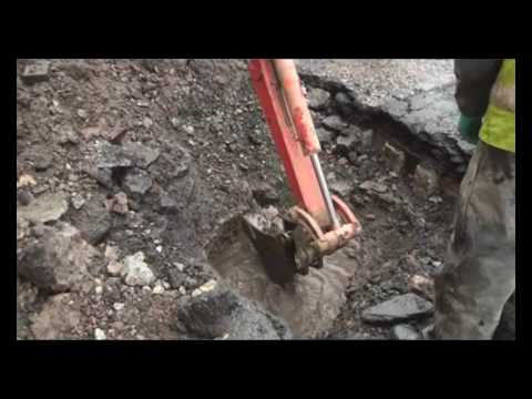 Edinburgh burst pipe