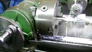 Fresadora, Fabricación engrane recto