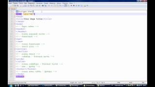 Урок верстки html5 часть 1