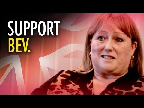 Tommy Robinson   Support Bev: Woman Fired for Joining Political Party!