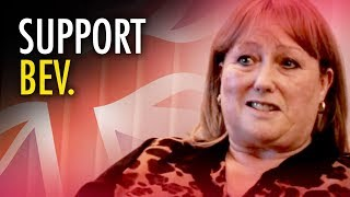 Tommy Robinson  Support Bev Woman Fired for Joining Political Party