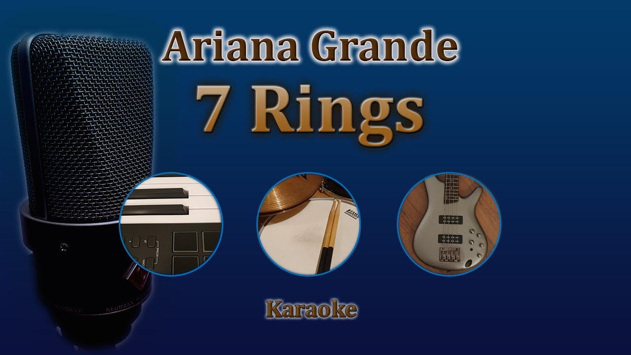 Download 7 Rings - Ariana Grande (Karaoke)