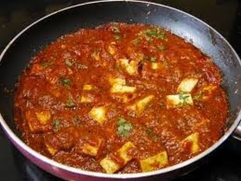Paneer Tikka Masala Simple Recipe | Simple Paneer Masala