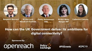 How can the UK Government deliver its ambitions for digital connectivity?