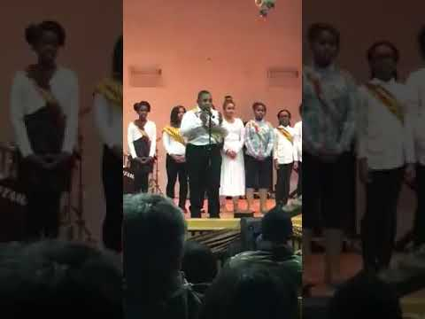 """2015 KIPP Infinity Middle School Chorus feat. Christopher Lane """"I'll Be There"""" D. Madden Dir."""