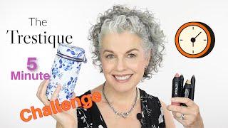 Quick And Natural Makeup - Kerry-Lou takes the Trestique 5 minute challenge! - YouTube