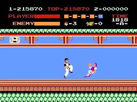 Kung Fu (NES) - 2 Million Points