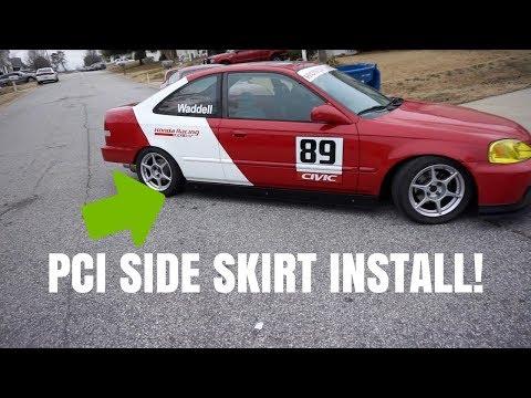 PCI SIDE SKIRT INSTALL AND VLOG  HSG EP. 5-82