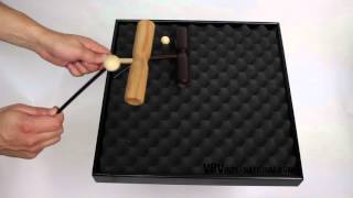 Tone Block Beech 2 Tone with Handle + Beater - 3+ video