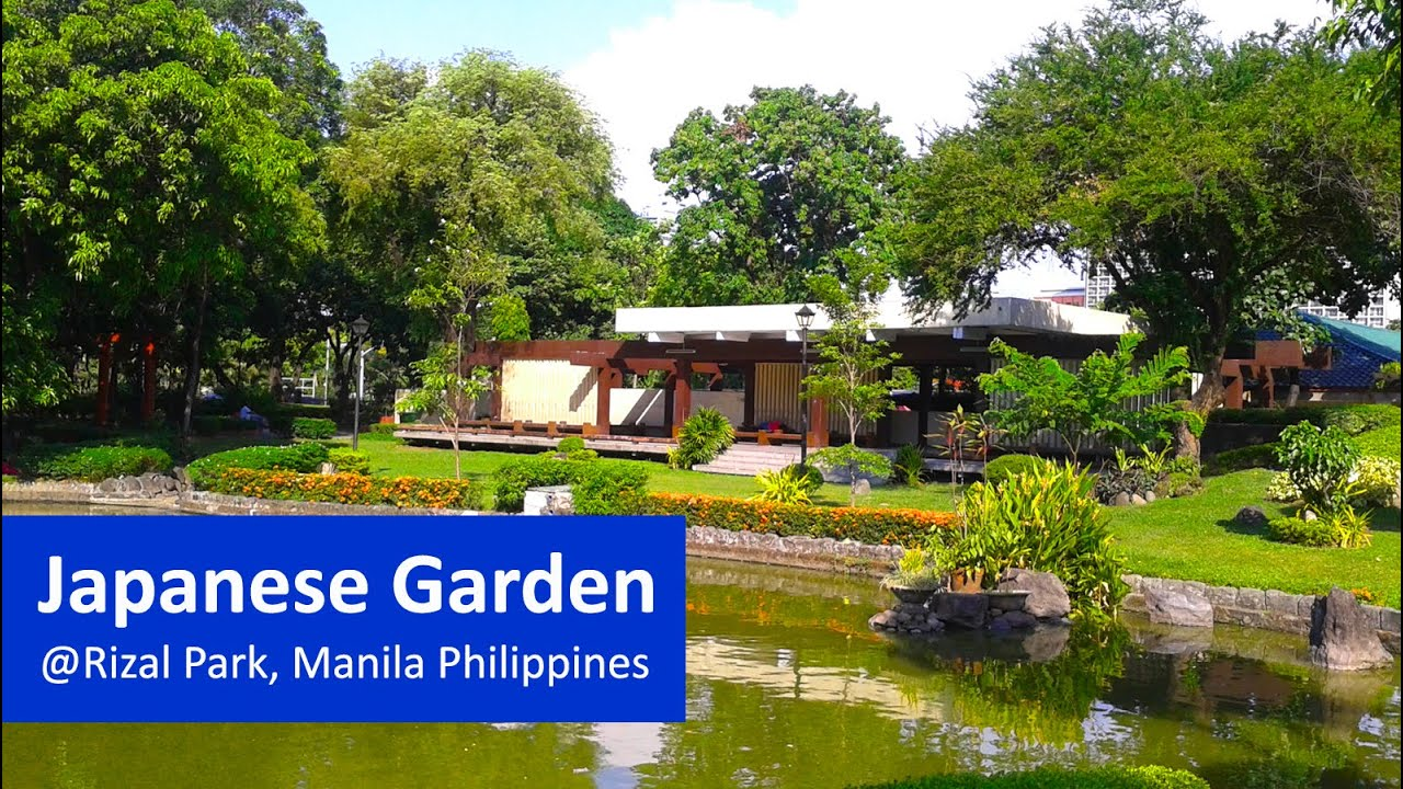 Japanese garden rizal park manila philippines youtube for Garden designs philippines