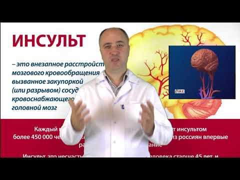 Инсульт.  Как лечить?  Какие лекарства использовать?
