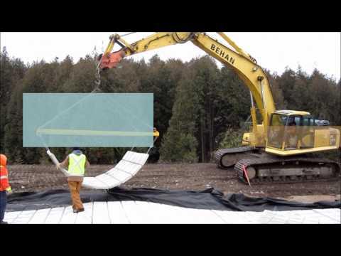 terrafix® - CASE STUDY - 2011 - NEWTONVILLE, ON - SWM POND