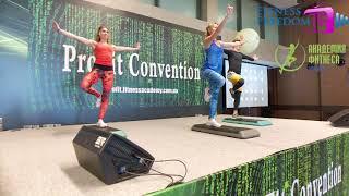 Функциональный тренинг со степом ProFit2019 - Fitness Freedom TV
