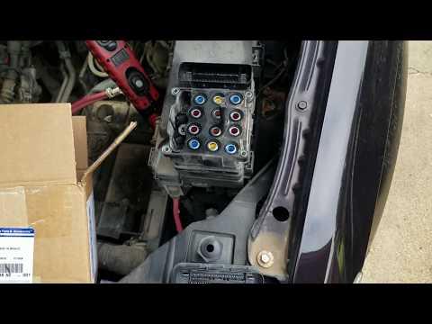 Dodge / Chrysler  ABS module replacement ESP BAS fix
