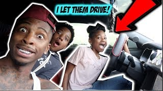 TEACHING THE NEW GIRL & MYKEL HOW TO DRIVE!!