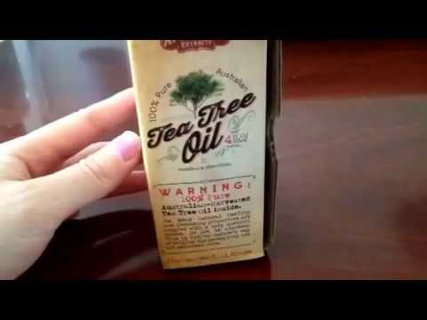 Tea Tree Oil Review + Giveaway - Apothecary Extracts 100% Pure Australian Tea Tree Oil