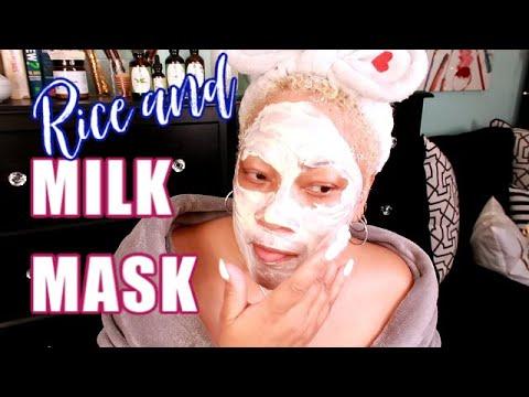 rice-flour-and-milk-powder-for-lightening,-brightening,-whitening-and-softening-your-skin