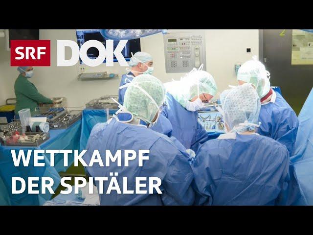 Wettkampf der Spitäler | Spitalschliessungen für eine bessere Qualität? | Doku | SRF DOK