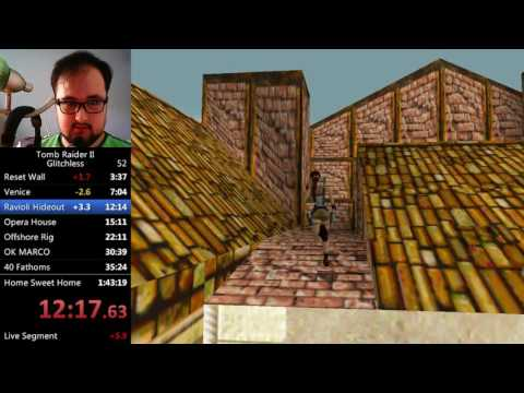 Tomb Raider 2 Glitchless SS Speedrun in 1:42:51 (RTA)