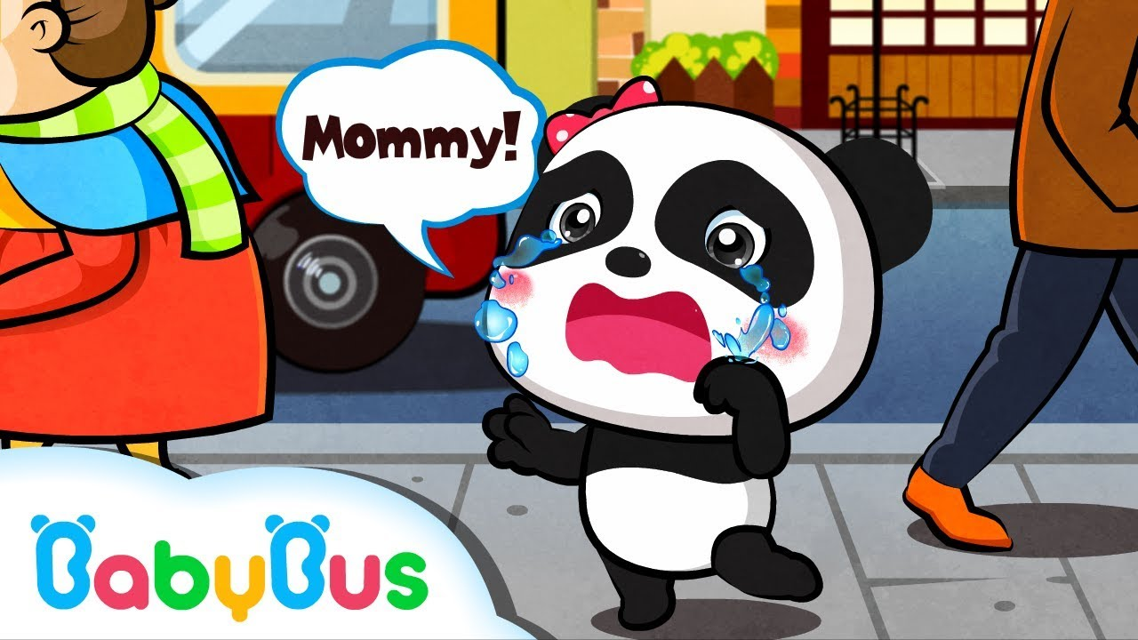Baby Panda Gets Lost And Cries Learn What To Do When