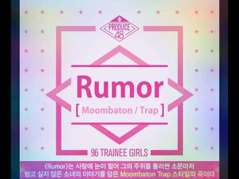 Rumour 소문 (Produce 48) Concept Evaluation Song ! (Demo)