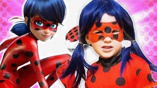 ЛЕДИБАГ вселилась в меня ? Откуда взялся костюм Леди Баг 💄 ladybug КОСПЛЕЙ на супергероя