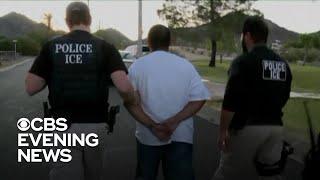 Nationwide ICE deportation raids yield 35 arrests