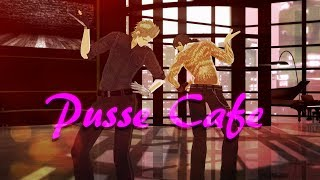 Video {MMD Final Fantasy XV} Pusse Cafe - Ignis and Gladio download MP3, 3GP, MP4, WEBM, AVI, FLV Agustus 2018