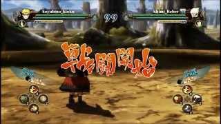 Sage Naruto vs Kakashi / Naruto Storm Revolution