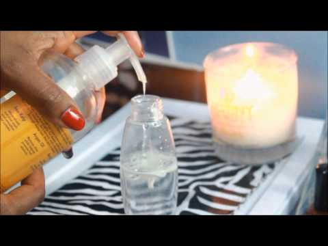 Natural Hair| D.I.Y. Moisturizing Refresher Spray