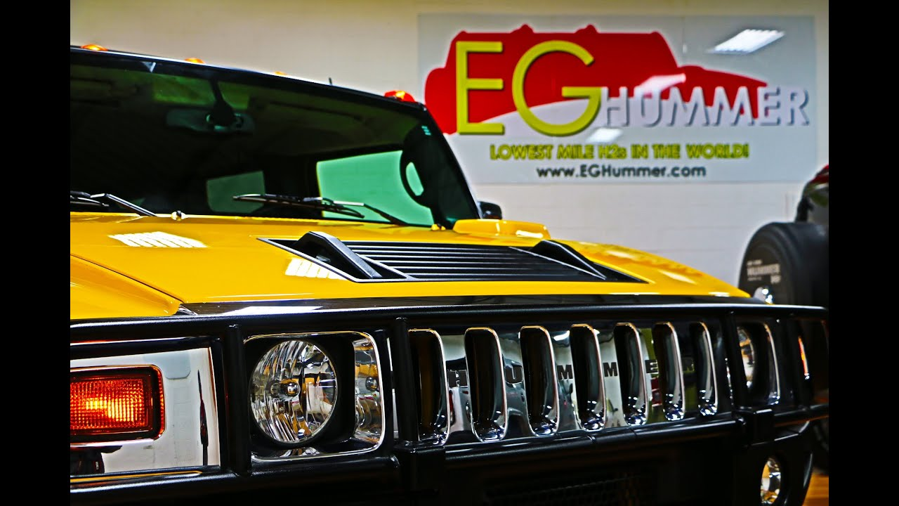 2006 Hummer H2 For Sale Navigation Yellow ONLY 157 Miles Factory