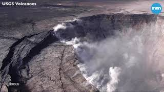 Dramatic changes occurring within Halemaumau Crater at Kīlauea's summit in Hawaii