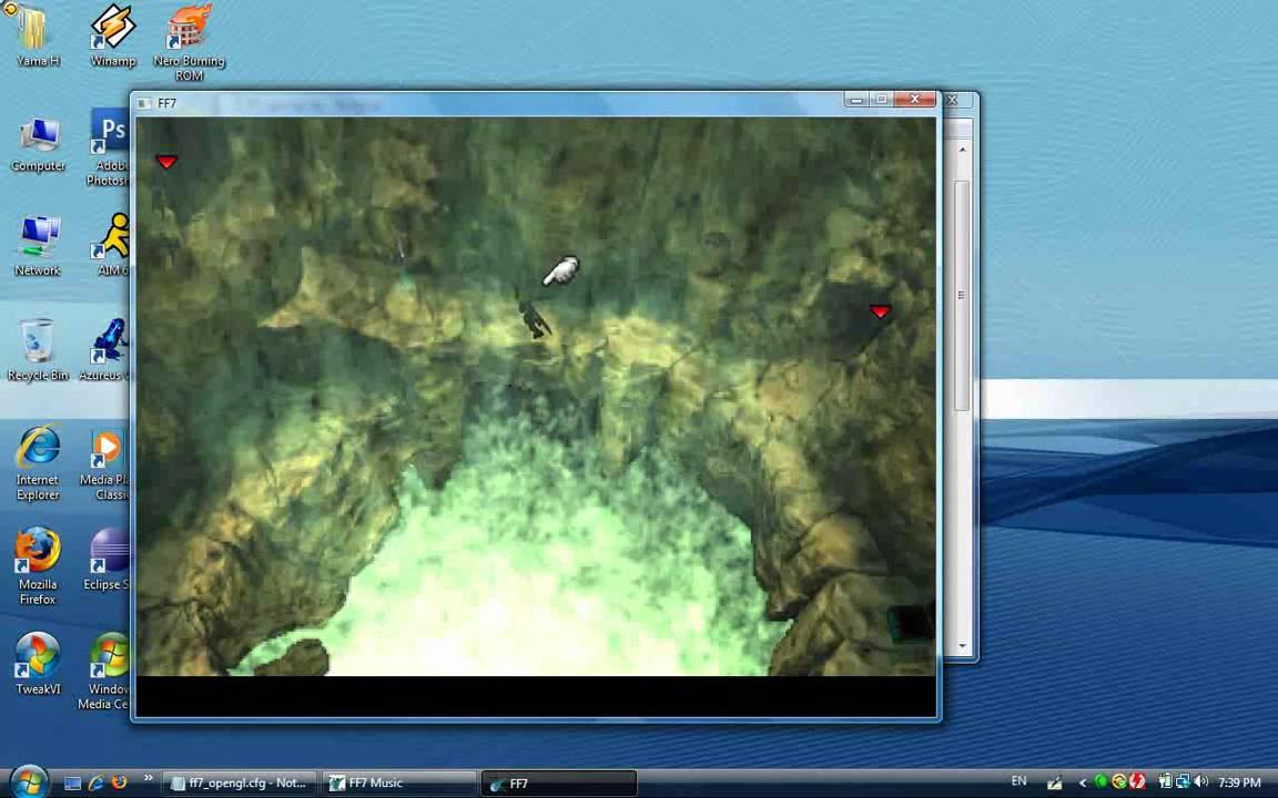FF7 Remix 2 0 OpenGL Configuration Tutorial