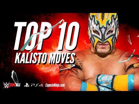 Download Kalisto Top 10 Moves in WWE 2K16