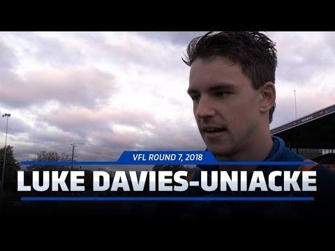 Luke Davies-Uniacke post-match (VFL Round 7, 2018)