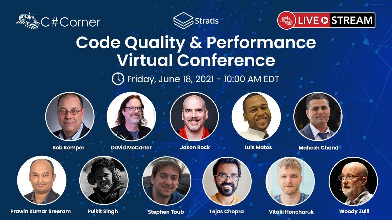 Code Quality & Performance Virtual Conference 2021