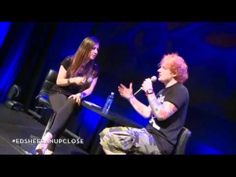 Ed Sheeran - Toronto Radio Webcast part 3/3