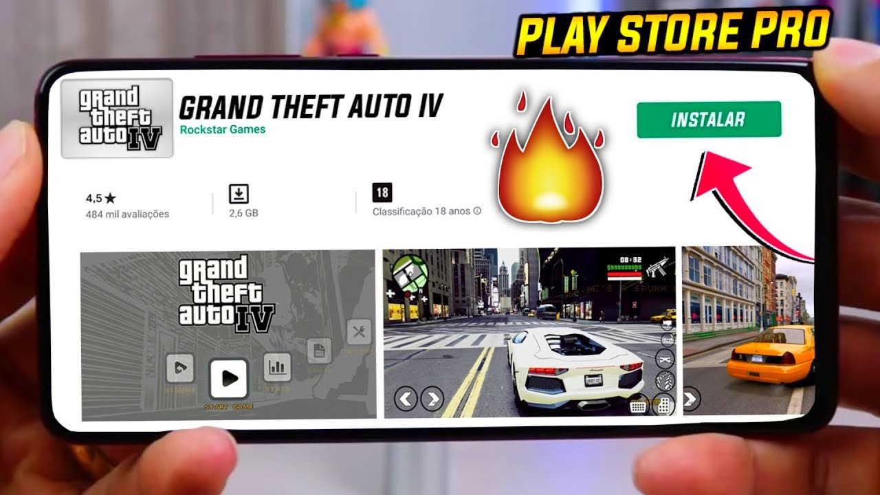 grand theft auto iv play store