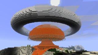 как сделать ядерную бомбу в minecraft БЕЗ МОДОВ!