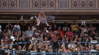 Does Bully Ray Follow Through On His Promise to Put Dixie Carter Through a Table?? (Aug 7, 2014) thumbnail