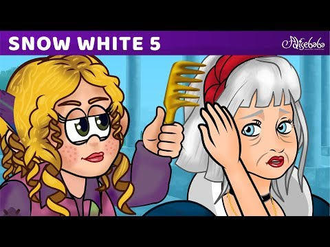 Snow White Series Episode 5 of 5 The Poisonous Comb | Fairy Tales and Bedtime Stories For Kids