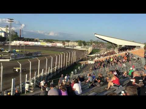 July 26 River cities speedway Late model Heat 2