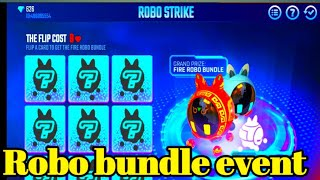 How to get free robo pet in free fire in Telugu|Free fire New robo bundle event in telugu