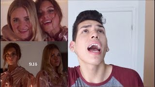 Aly & AJ - Take Me Music Video Reaction! thumbnail