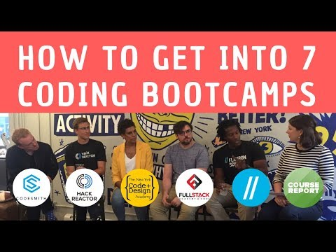 How To Get Into 7 Coding Bootcamps